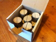 10 Quality Card Holders Little Log Rounds Party Chic Tree Wood Slices