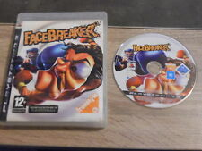 Jeu Sony PS3 : Face Breaker