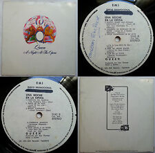 QUEEN A NIGHT AT THE OPERA 1975 UNIQ PROMO WHITE LBL 2 SONGS OMITTED TOP RARITY!