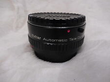 VIVITAR AUTOMATIC TELE 2X LENS CONVERTER FOR CONTAX YASHICA MINT 2 X - 24