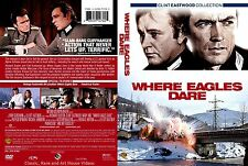 Where Eagles Dare ~ New DVD 2010 ~ Clint Eastwood, Richard Burton (1968)