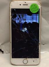 Gold AT&T iPhone 6S 64GB - CRACKED SCREEN LCD LOCKED FOR PARTS ONLY!
