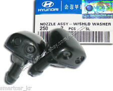 1999 2000 2001 2002 Hyundai Accent / Verna OEM Windshield Washer Nozzle (2pcs)