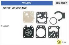 KIT SERIE MEMBRANE membrana CARBURATORE WALBRO D10-WZ (D 10 WZ)