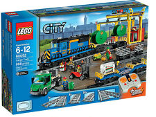 LEGO City Cargo Train 60052, Power functions motorised, Brand New Sealed BNISB