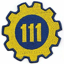 Fallout 4 Vault 111 Vault-Tec Embroidered Iron-on Patch