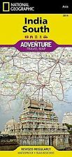 National Geographic Adventure Map: India South 3014 by National Geographic...