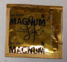 Lisa Ann Signed Condom BAS Beckett COA MILF Porn Star Adult DVD Legend Autograph