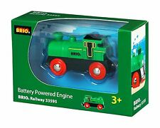 Brio Battery Engine Powered Wooden Train Engine Thomas compatible NEW 33595