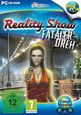 REALITY SHOW * FATALER DREH *  ADVENTUERE-GAME   PC CD-ROM