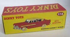 Repro Box Dinky Nr.174 Hudson Hornet Sedan