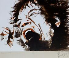 """RONNIE WOOD """"Voodoo Mick"""" (Jagger) HAND SIGNED ROLLING STONES"""