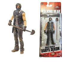 THE WALKING DEAD TV SERIES 7.5 GRAVE DIGGER DARYL DIXON ACTION FIGURE McFARLANE