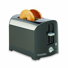 Proctor Silex 2-Slice Durable Toaster Black New Free Shipping