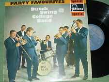 Music/Records/Jazz.  Dutch College Swing Band. Party Favourites.  Used.