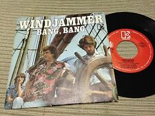 "WINDJAMMER - SPANISH 7"" SINGLE SPAIN PROMO HISPAVOX 78 - BANG BANG - SURF"