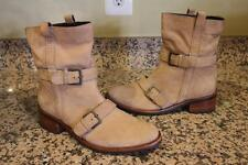 Cole Haan Women's Fabrizia Short Tan Leather Fashion Ankle Boots Size 6.5B (bota