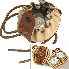 """2-1/4"""" x 2-7/8"""" DRAWSTRING COIN POUCH KIT 4071-00 Tandy Leather Craft Bag Kits"""