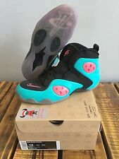 "2012 Nike Zoom Rookie ""DeJesus South Beach Custom"" Brand New (472688-010) sz 12"