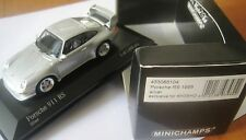 SUPER RARE MINICHAMPS KYOSHO PORSCHE 911 993 RS SILVER 1:43 1 OF 1008 OBSOLETE