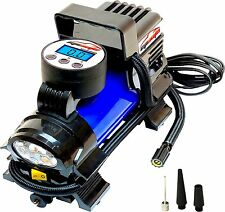 EPAuto 12V 120W Portable Air Compressor Pump, Digital Tire Inflator (AT-010-1Z)
