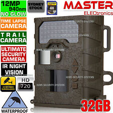 Trail Camera Wireless Security Cameras Hunting 940nm 12MP Outdoor no Spy Hidden