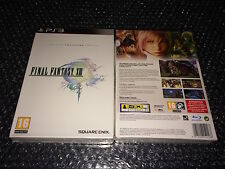 FINAL FANTASY XIII COLLECTOR EDITION LIMITEE NEW NEUF PS3 PAL VF FRANÇAISE