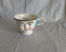 VTG Baileys Irish Cream Yum Winking Lady Tea Cup Mug