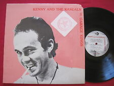 KENNY & THE KASUALS - GARAGE KINGS (1979) MARK 7000 STEREO LP SHRINK EX