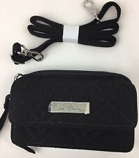 Vera Bradley All In One Crossbody/Wristlet  Classic Black IPhone 5NWT Ships Free