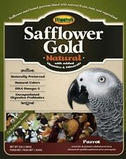3 lb Parrot Size Safflower Gold Natural (No Sunflower) Bird Food by Higgins