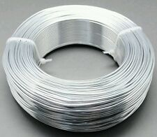 Silver  Aluminium wire craft jewellery 1 mm, 30 m, best price, fast shipping,