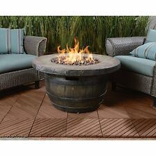 Vineyard Outdoor Propane Fire Table 50,000 Btu Yard Patio Deck Hot Fire Pit New