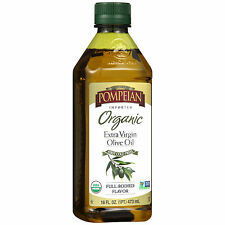 Pompeian® Organic Imported Extra Virgin Olive Oil 16 fl. oz. Bottle NEW