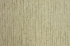 Rosedale Green and Cream Bamboo Wallpaper - FF240-4