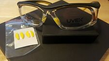 Uvex Safety By Honeywell SW06 Titmus 18560 Yellow Black Clear Eyeglasses Frame