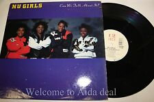 """Nu Girls - Can't We Talk About It LP (VG) 12"""""""
