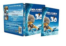 Blu ray steelbook Ice Age l'age de Glace 4 3D French Lenticular New&Sealed NEW
