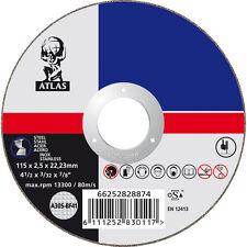 Metal Discos De Corte 115 x 22mm Paquete De 10