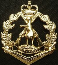 VIETNAM IRAQ AFGHANISTAN WAR ROYAL AUSTRALIAN REGIMENT UNIFORM CAP BADGE RAR