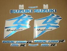 Hayabusa gsx1300r 1340 K8 decals stickers graphics kit set blue k9 k10 l1 l2 l3
