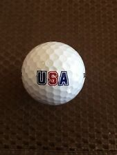 LOGO GOLF BALL-USA...UNITED STATES OF AMERICA..