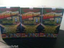 Lot of 3 - Instant Baseball Treasures Sealed Box Ruth Mantle Wagner Auto Vintage