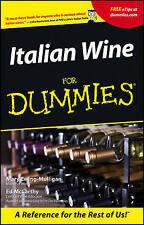 Italian Wine For Dummies, Mary Ewing–Mulligan