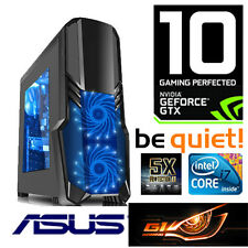 Gamer PC Intel i7 6700K 4x4,20Ghz-16GB-GTX1070 8GB G1 Gaming  HDMI-256GB M.2-CB