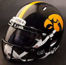 "IOWA HAWKEYES ""ANF"" NCAA Authentic GAMEDAY Football Helmet w/ OAKLEY Eye Shield"