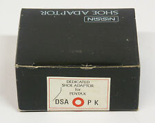 Nissin Dedicated Shoe Adapter for Pentax 35mm cameras non TTL