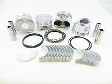Upgraded Pistons+Rings+Engine Bearings 96-00 1.6L Civic EX Del Sol Si Vtec .25mm