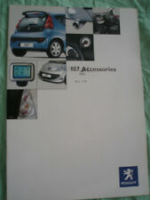 PEUGEOT 107 ACCESSORI GAMMA BROCHURE JUN 2005