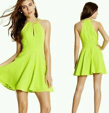 NWT GUESS by Marciano green Joleen Dress size 6